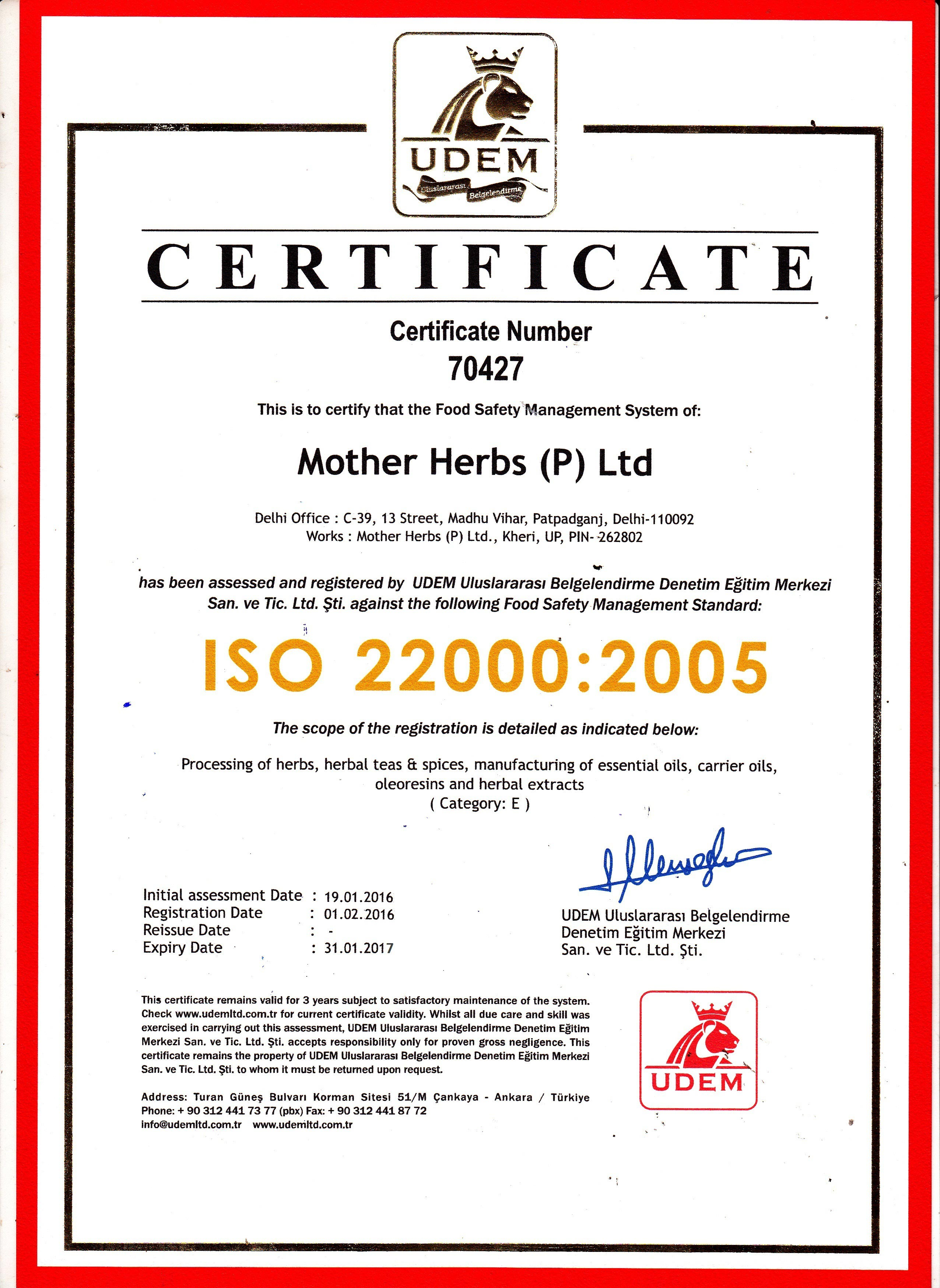 mother herbs 9001