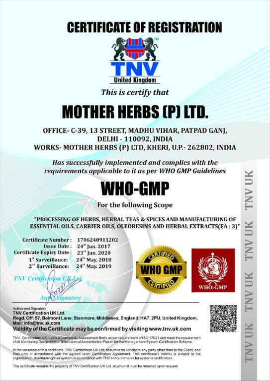 mother herbs gmpC